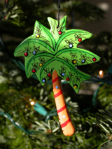 color scheme tips for a palm tree christmas tree theme