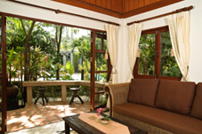 tropical design theme