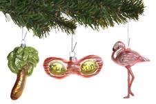 Tropical Christmas Ornaments