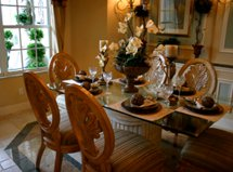 Tropical Dining Room Furniture